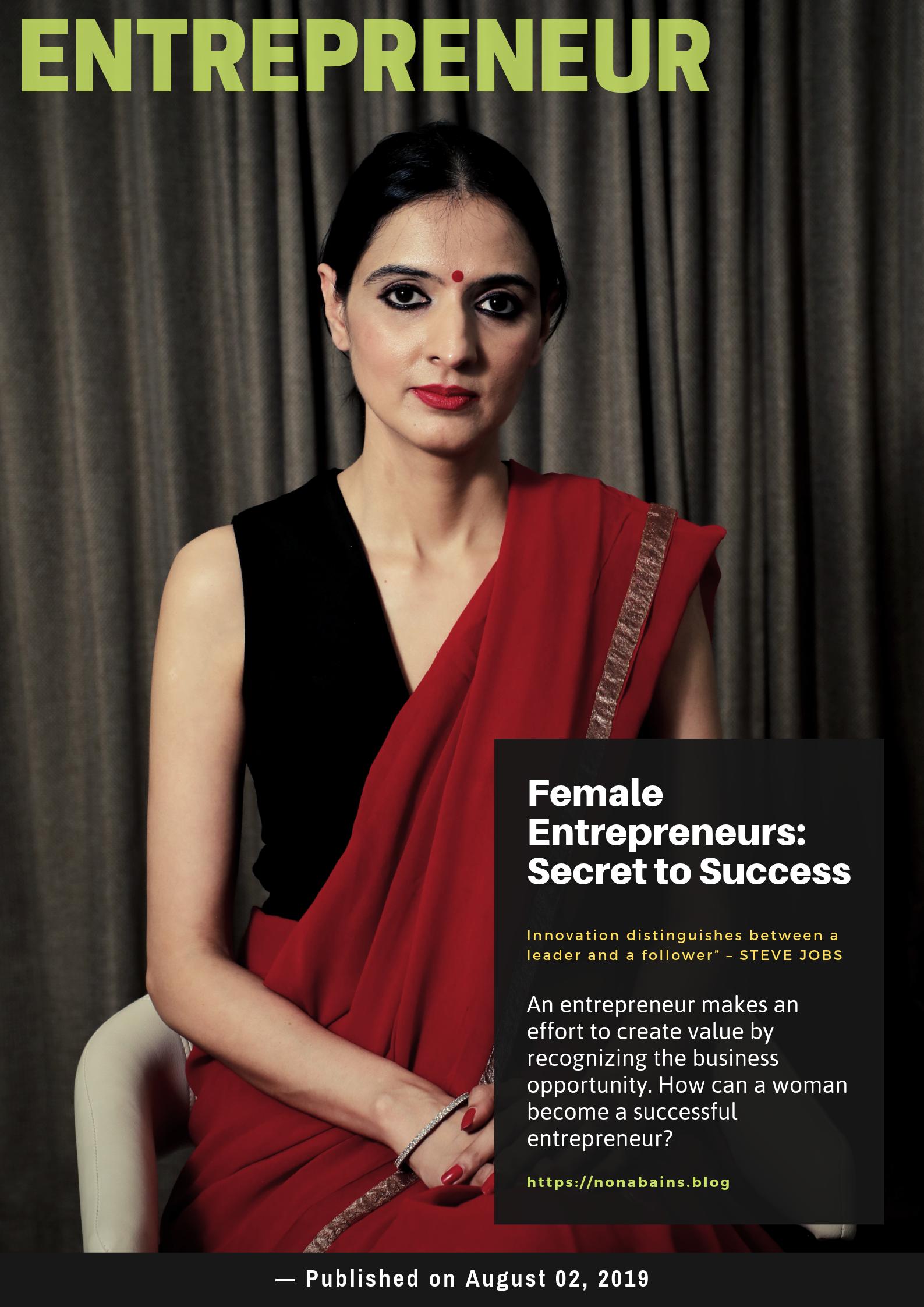 Nona Bains - Women Entrepreneur